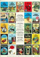 Verso de Tintin (Historique) -3C2- Tintin en Amérique