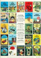 Verso de Tintin (Historique) -4C2- Les cigares du Pharaon