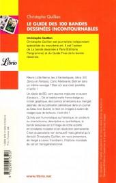 Verso de (DOC) Conseils de lecture - Le Guide des 100 bandes dessinées incontournables