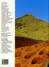 Verso de Blueberry (La Jeunesse de) -3c1995- Cavalier bleu