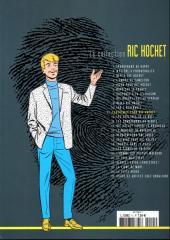 Verso de Ric Hochet - La collection (Hachette) -11- Cauchemar pour Ric Hochet