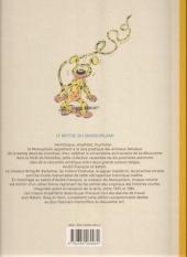 Verso de Marsupilami (Le Soir) -10- Rififi en palombie