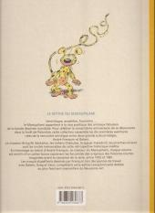 Verso de Marsupilami (Le Soir) -4- Le pollen du monte urticando