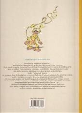 Verso de Marsupilami (Le Soir) -3- Mars le noir