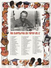 Verso de Néron et Cie (Les Aventures de) (Érasme) -91- Kiwi le kiwi