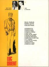 Verso de Luc Orient -13b- L'enclume de la foudre