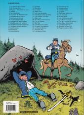 Verso de Les tuniques Bleues -28a2003- Les bleus de la balle