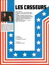 Verso de Les casseurs - Al & Brock -1FS- Haute tension
