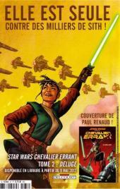 Verso de Star Wars - BD Magazine / La saga en BD -37- Numéro 37