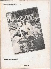Verso de Zombie (France Sud Publications / Bois de Boulogne) -1- L'horrible vengeance