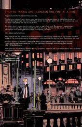 Verso de Hellblazer: City of Demons (2010) -INT- City of Demons