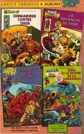 Verso de Kamandi (2e série - Arédit - Artima Color DC Super Star) -3- Kamandi et les mutants