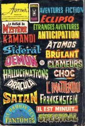 Verso de Frankenstein (Arédit - Comics Pocket) -6- Le monstre des neiges