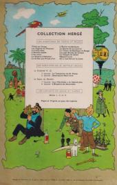 Verso de Tintin (Historique) -16B15- Objectif lune