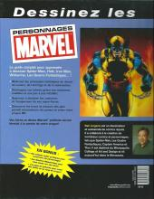 Verso de (DOC) Marvel Comics - Dessinez les personnages Marvel