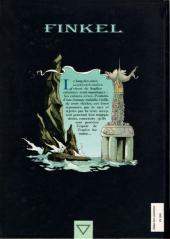 Verso de Finkel -1HC- L'enfant de mer
