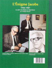 Verso de (AUT) Jacobs, Edgar P. -20- L'Énigme Jacobs - 1946-1987 - Le père de Blake et Mortimer