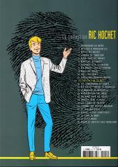 Verso de Ric Hochet - La collection (Hachette) -12- Les spectres de la nuit