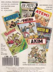Verso de Capt'ain Swing! (1re série) -280- Le pont de Tuskalakua