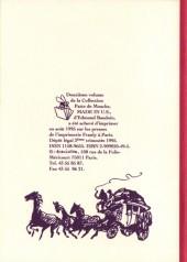 Verso de Made in U.S. - Tome 12