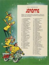 Verso de Jérôme -89- Le géant des neiges