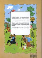 Verso de Tintin (en langues régionales) -11Borain- El Secreut d'el Licorne