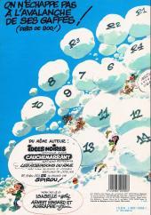 Verso de Gaston -13a1983- Lagaffe mérite des baffes