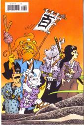 Verso de Usagi Yojimbo (1996) -100- 100th issue