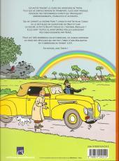 Verso de (AUT) Hergé -35a11- Tintin - Hergé - Les Autos