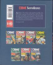 Verso de Crime SuspenStories -1- Volume 1