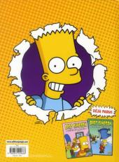 Verso de Bart Simpson (Jungle !) -3- Fils d'Homer