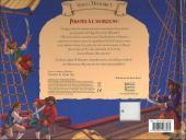 Verso de Vivez l'histoire (pop-up) - Pirates à l'horizon
