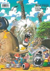 Verso de One Piece -ART3- LION - Color Walk 3
