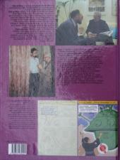 Verso de Blake et Mortimer (Les Aventures de) -12HS- Les 3 formules du Professeur Sato T2 Dossier Mortimer contre Mortimer