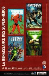 Verso de Green Lantern Saga -1- La renaissance des super-héros DC