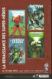 Verso de DC Saga -1VC- La renaissance des super-héros DC