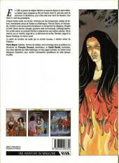 Verso de Les chemins de Malefosse -1a1986- Le diable noir