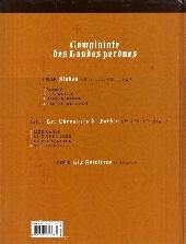 Verso de Complainte des Landes perdues -7- La Fée Sanctus