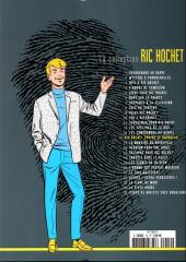 Verso de Ric Hochet - La collection (Hachette) -14- Ric Hochet contre le bourreau