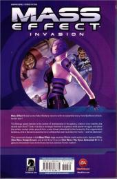 Verso de Mass Effect: Invasion (2011) -INT- Mass Effect Invasion