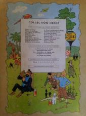 Verso de Tintin (Historique) -10B29- L'étoile mystérieuse