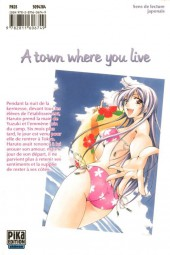 Verso de A town where you live -7- Tome 7