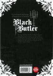 Verso de Black Butler -10- Black Esper