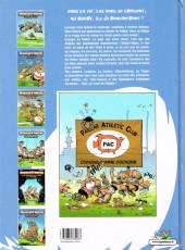 Verso de Les rugbymen -4a2008- Dimanche prochain, on jouera samedi !