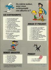 Verso de Benoît Brisefer -1b1980- Les taxis rouges