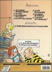 Verso de L'Élève Ducobu -1a2002- Un copieur sachant copier