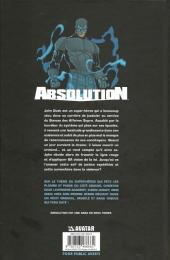 Verso de Absolution -1- Tome 1