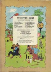 Verso de Tintin (Historique) -2B23ter- Tintin au congo
