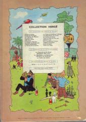Verso de Tintin (Historique) -4B31- Les cigares du Pharaon