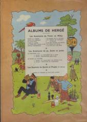 Verso de Tintin (Historique) -5B06- Le Lotus Bleu